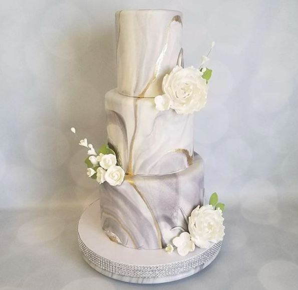 marbled-wedding-cake-creative-marbling-cakes-anniversaries