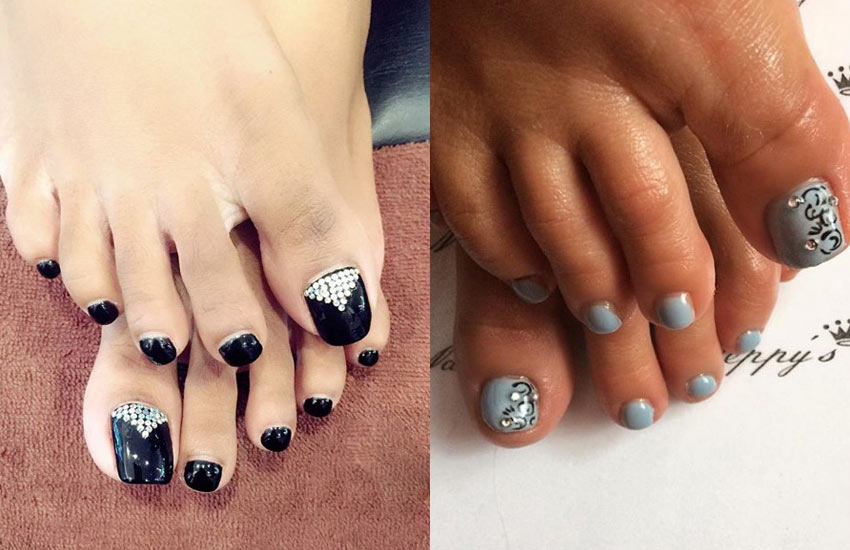 pedicure-designs-with-rhinestones-summer-2018