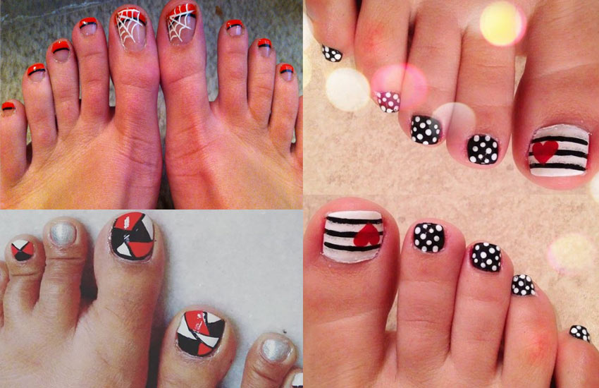 red-black-white-nail-design-ideas