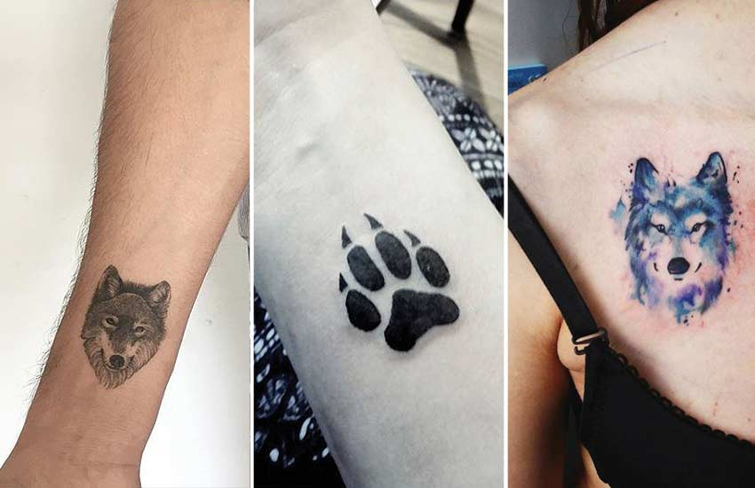 small-tiny-miniature-wolf-tattoo-trends-ideas-simple-designs-watercolor