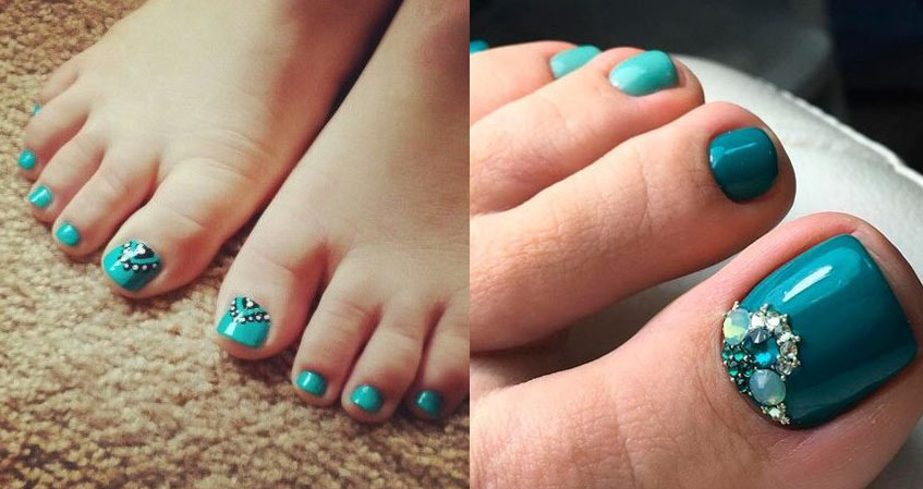 teal-toe-designs-ideas-nailart-2018