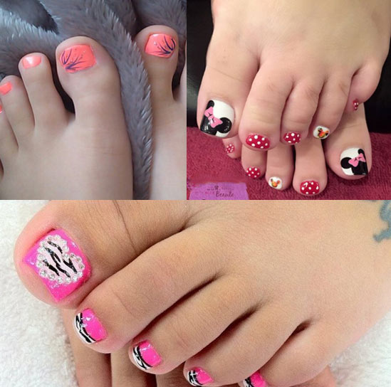 toe-nail-for-kids-trends-ideas-designs-summer-2018