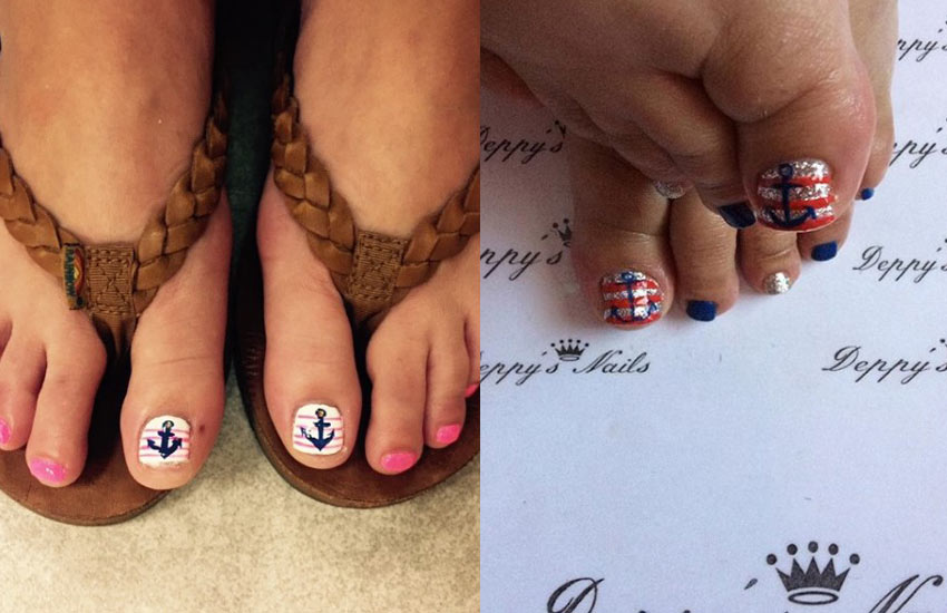 50 Toe Nail Designs | Pedicure Ideas for Every Season, Color & Mood
