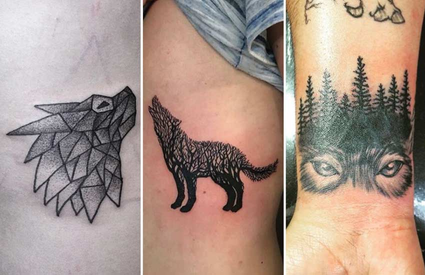 wolf-symbol-line-dot-work-geometric-tattoo-designs