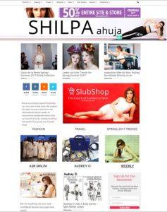 shilpa ahuja homepage