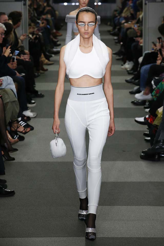 alexander wang-fall-winter-2018-fw18-crop-top-fashion
