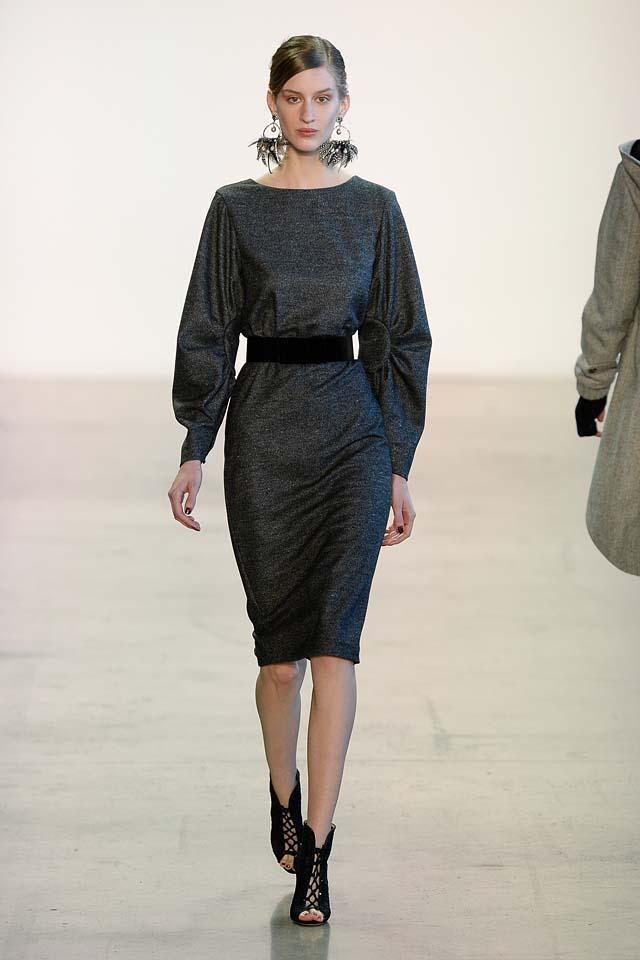 badgley-mischka-peasant-sleeves-womens-dresses-fw18