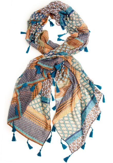 bohemian-tassel-printed-scarf-gypsy-clothing-outfits-looks