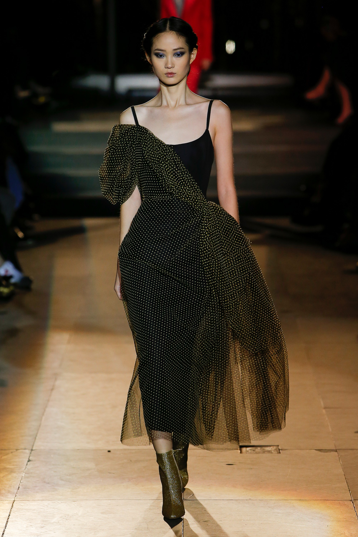 carolina herrera-3d-dress-fashion-for-women-fall-2018