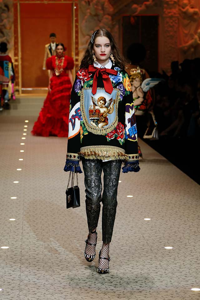 2a009f9d9fa Dolce   Gabbana Fashion Show Fall 2018 Flies High with Drones