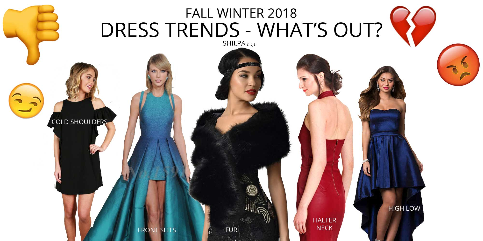 dress-trends-whats-out-fall-winter-2018-fw18-cold-shoulders-frontslit