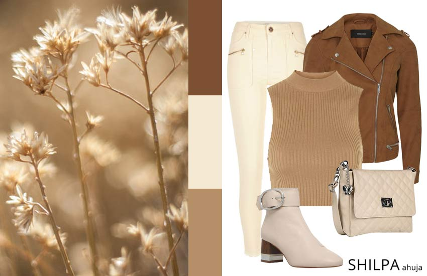 fashion-color-schemes-design-ideas-palettes (6)-tan-monochromatic