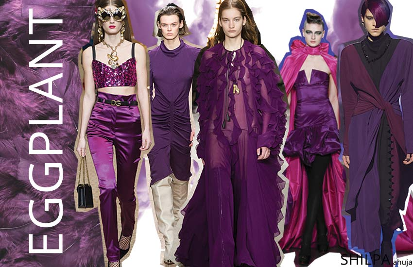 latest-fall-winter-colors-in-fashion-2018 (3)-eggplant-violet-purple