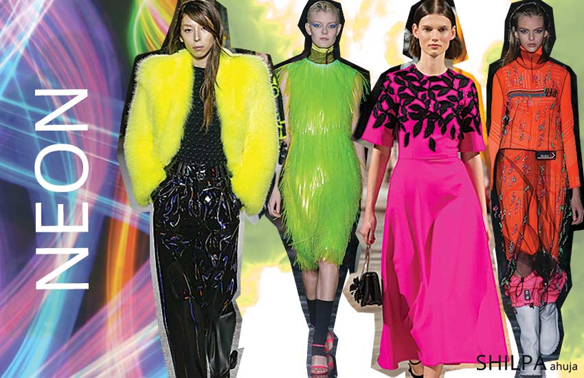 latest-fall-winter-colors-in-fashion-2018 (6)-bright-fluorescent-neons
