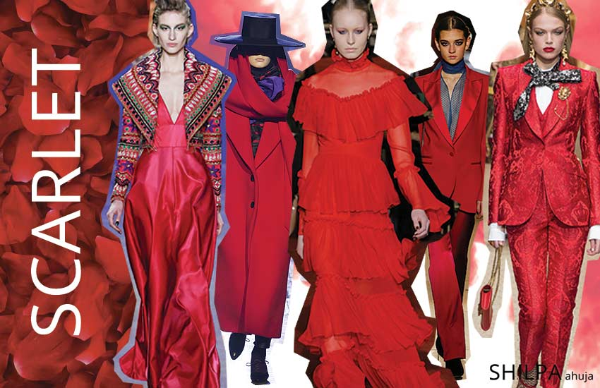 latest-fall-winter-colors-in-fashion-2018 (8)-bright-scarlet-red