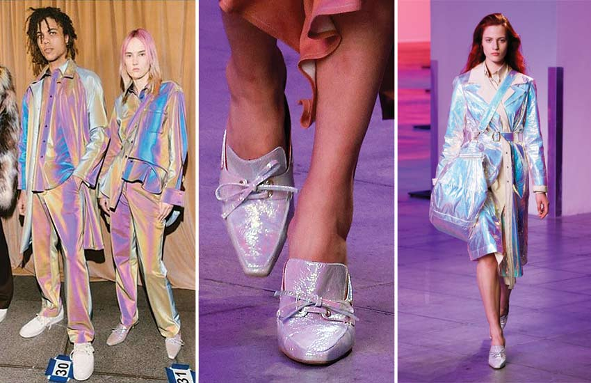sies-marjan-nyfw-fall-winter-2018-holo-fashion-trend-holographic-iridescent