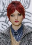 best-hair-color-trends-ideas-copper-brown-designer-miu-miu-fw-18