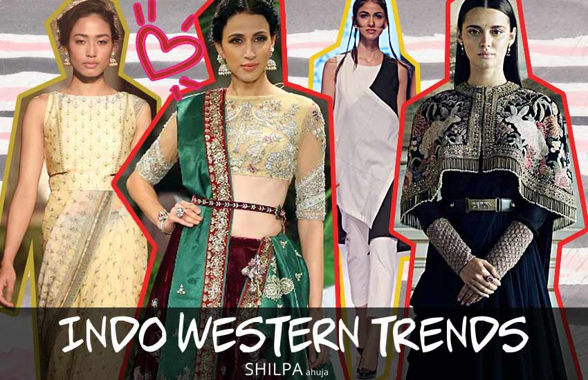 Indo Western Dress Trends For 2018 How To Wear Indo Western Outfits