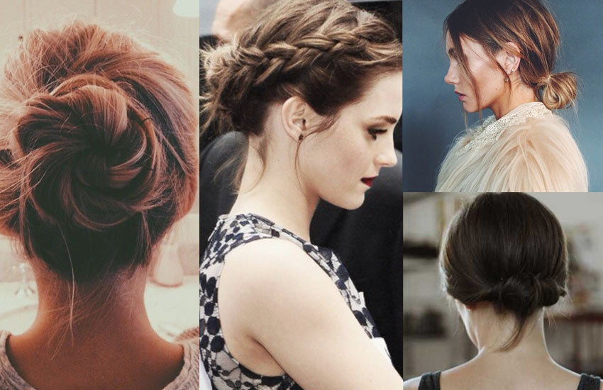 Cute-buns-how-to-do-a-bun-with-short-hair-style-fashion-how-to-trends