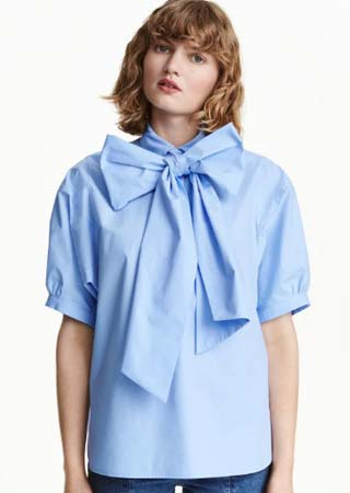 H&m-pussy-bow-top-fashion-dictionary-glossary-terms-types-of-tops