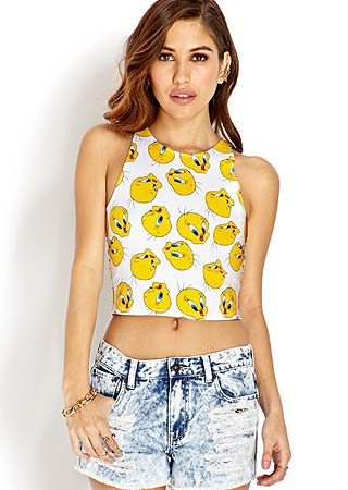 designer-forever-21-crop-top-fashion-vocabulary-trends-glossary-terminology-types-of-tops