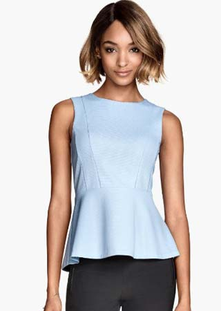 designer-h&m-peplum-types-of-tops-dictionary-glossary-words