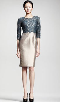 fashion-trends-glossary-terms-types-of-tops-designer-d&g---sheath-dress