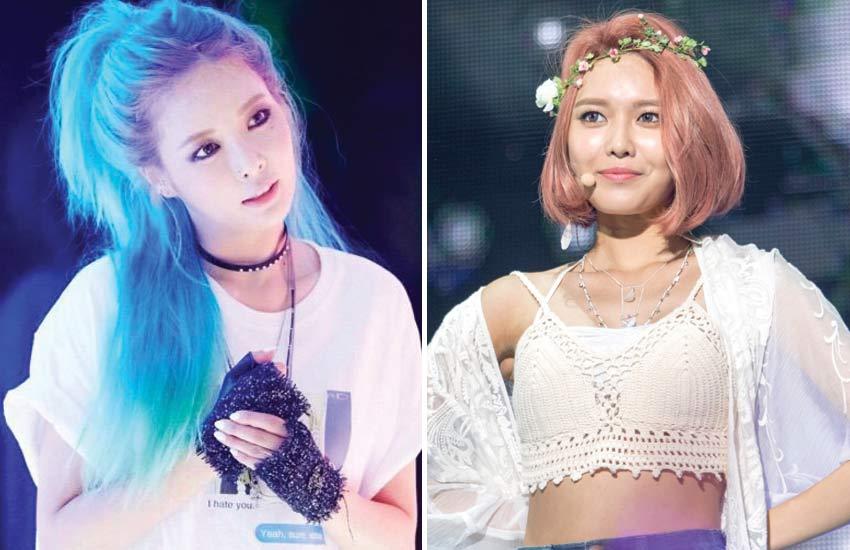 korean-kpop-idol-fashion-(6)-hyuna-sooyoung-choker-flower-crown-accessories