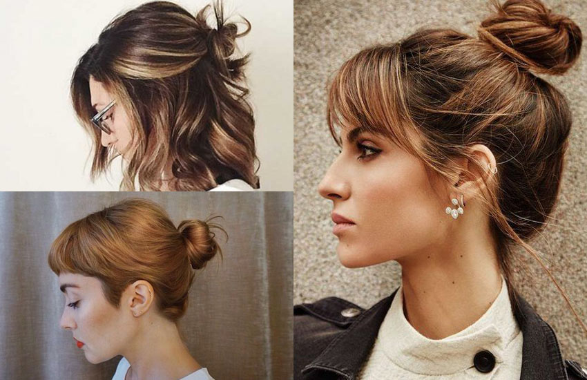 short-hair-bun-with-bangs-hairstyle-how-to-ideas