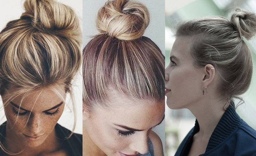 How To Make A Bun With Short Hair 11 Super Easy Short Hairstyles