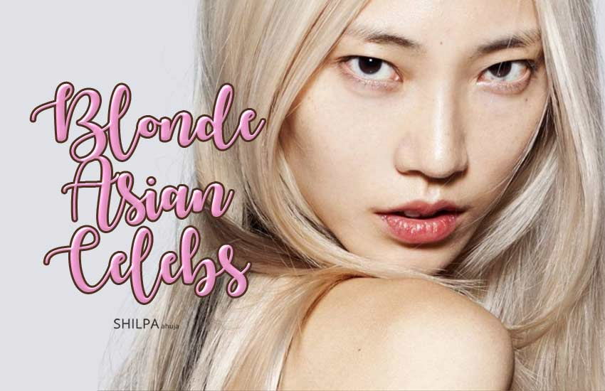 blonde asian celebrities-hair-color-popular-how-to-best