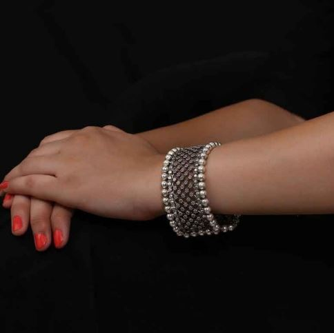 bracelet-for-women-silver-jewelry-indian-ornaments