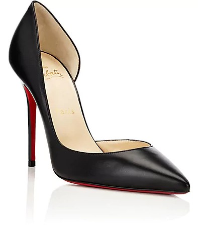 christian louboutin-dorsay shoes-fashion-words-dictionary-glossary-terminology-types-of-shoes