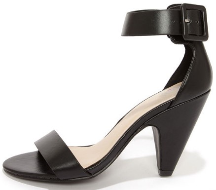 cone heels-lulus-types-of-heels-fashion-dictionary-glossary-words-terminology-terms