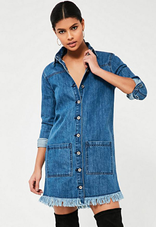 fray-hem-denim - missguided-fashion-glossary-words-terminology-dictionary-surface-techniques