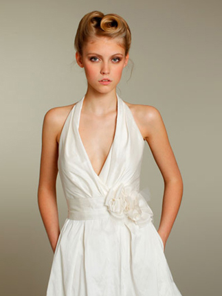 halter-neckline - about-our dress-fashion-glossary-words-terminology-dictionary-types-of-gowns-designs
