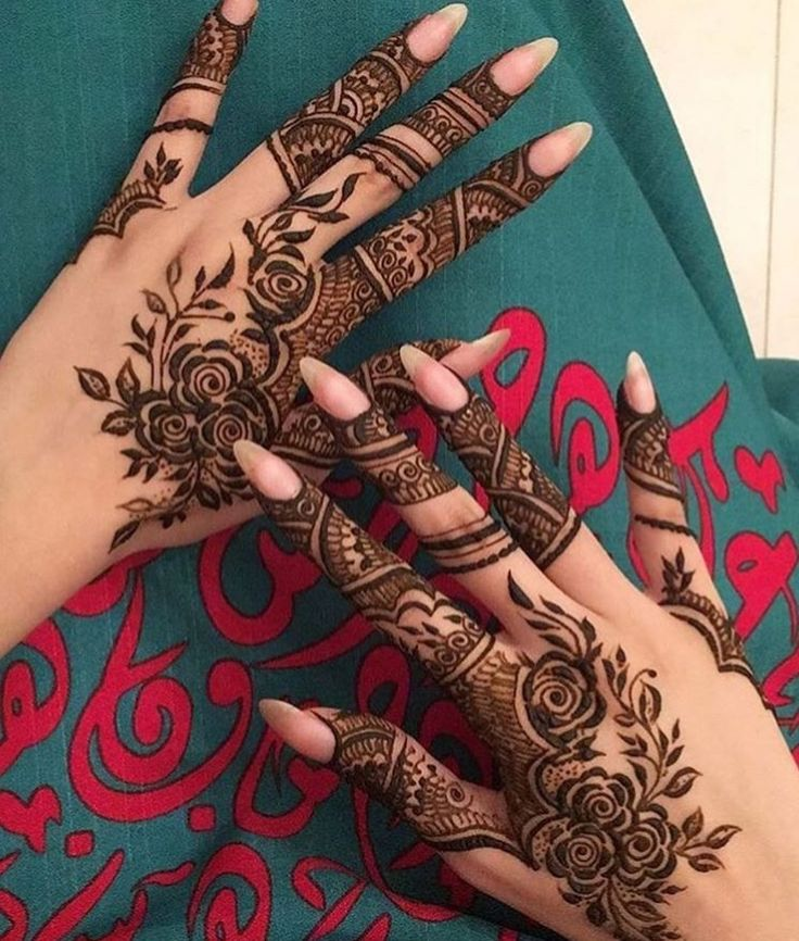 henna via pinterest-latest-rose-design-mehendi-trends-fashion-style-back-side-hands