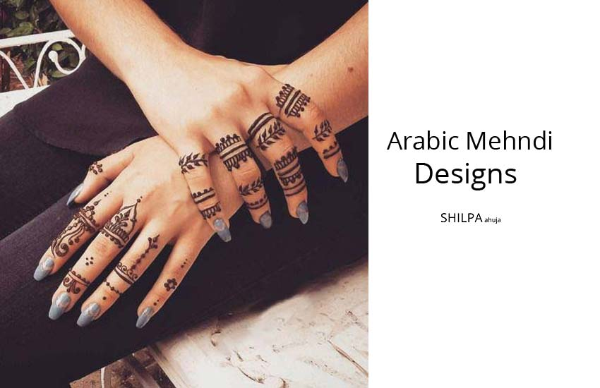 latest-Arabic Mehndi Design-trends-colored-mehendi-types-of-designs-wedding-occasions