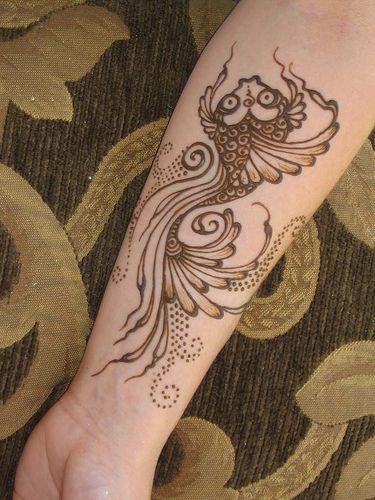 nomad heart henna via pin - fish-mehendi-simplke-design-fish-inspired-trends-fashion