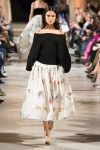 oscar de la renta-fall-winter-2018-fw18-off-the-shoulder