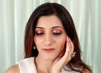 beauty-blogger-makeup-transformation-glossy-eyeshadow-look-tutoria