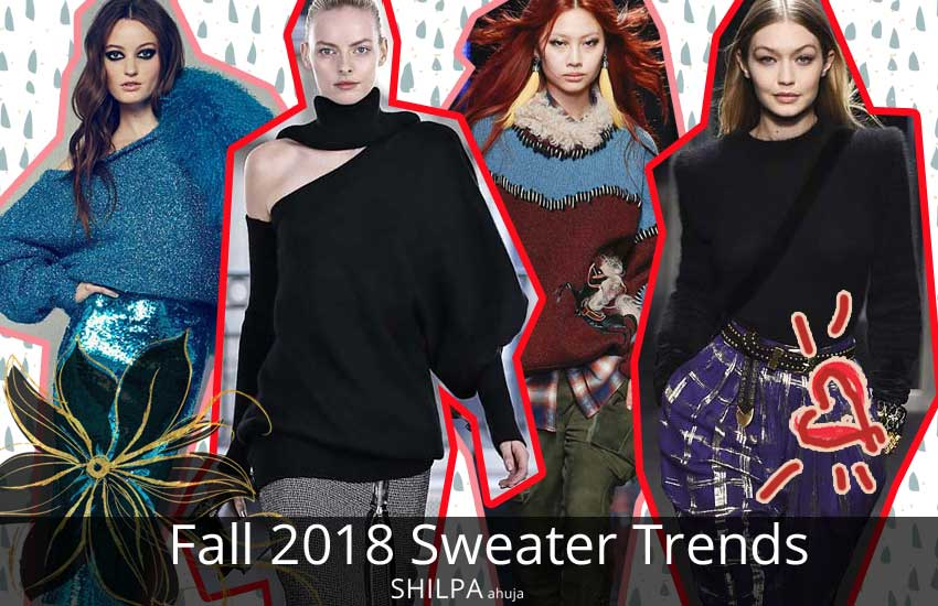 11 Fashion Sweaters For Fall 2018 Latest Sweater Trends For Fw18