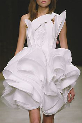 three dimensional dress - aplusdesignn-fashion-glossary-words-terminology-dictionary-types-of-gowns-designs