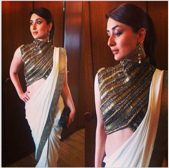 celeb-kareena-kapoor-blouse-designs-trends-how-to-ideas-trend-criss-cross pattered blouse-annie ravie via pin