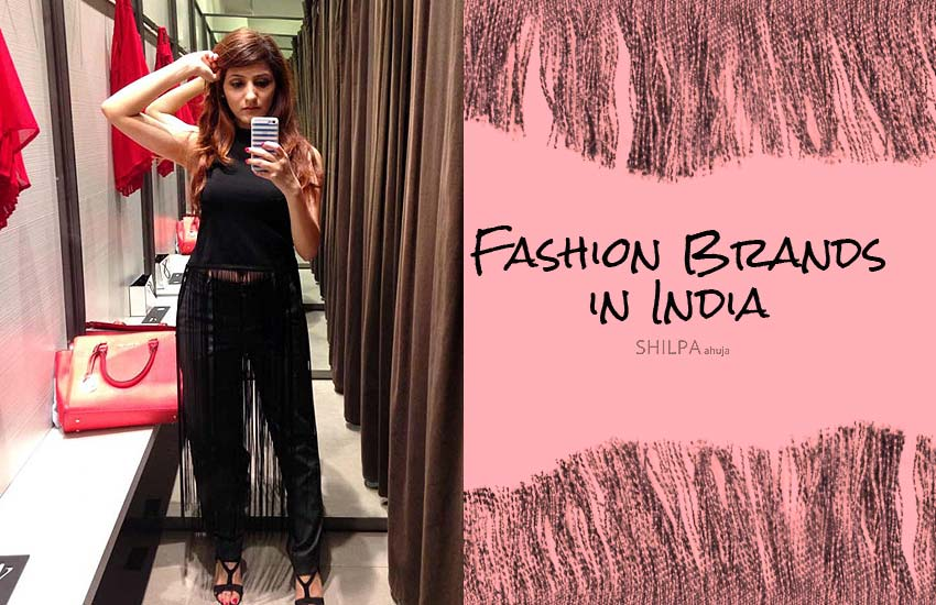 Fashion Brands in India Popular Indian Brands for Clothing
