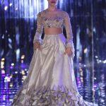 ICW-2017-Manish-Malhotra-Runway-lehenga designs silver bridal