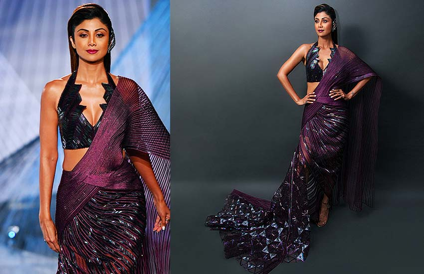 Amit Aggarwal Collection amit-aggarwal-indian-couture-week-2018-shilpa-shetty-kundra-showstopper-reviews