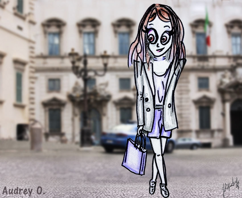 audrey-o-fall-2018-cartoon-girl-fashion-tips street-style-fun-comic-