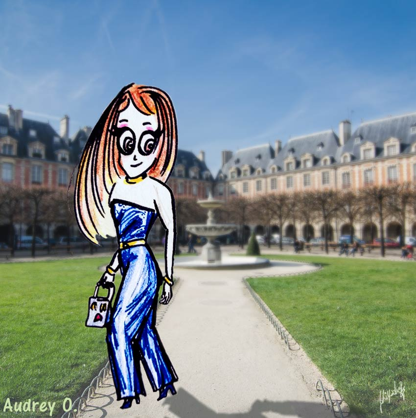 audrey-o-travel-cartoon-girl-fashion-style-fun-comic-traveling-
