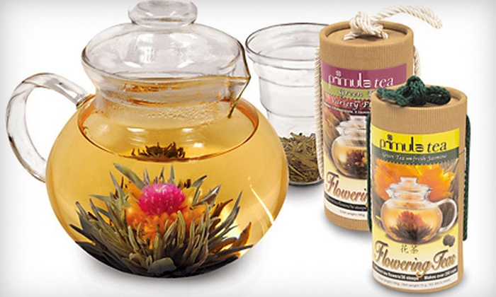 blooming tea flowers types of herbal teas groupon